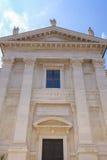 Cathédrale de ville à Urbino images libres de droits