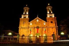 Cathédrale de ville de Bacolod Image libre de droits