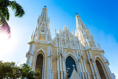Cathédrale de Vitoria, Espirito Santo, Brésil Photo stock