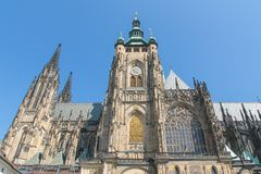 Cathédrale de Vitus de saint à Prague Photographie stock libre de droits