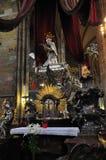 Cathédrale de Vitus de saint d'église à Prague Photographie stock