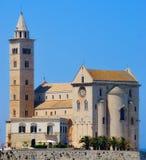 Cathédrale de vue arrière de Trani (BA) Photo libre de droits