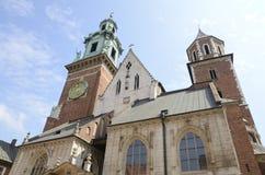 Cathédrale de Wawel photo libre de droits