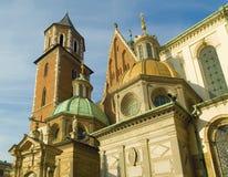 Cathédrale de Wawel Photos libres de droits