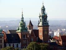 Cathédrale de Wawel, Cracovie Images stock