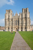 Cathédrale de Wells Photographie stock libre de droits