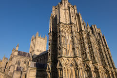 Cathédrale de Wells Images stock
