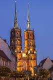Cathédrale de Wroclaw images stock