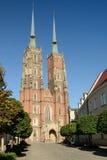 Cathédrale de Wroclaw, Pologne images stock