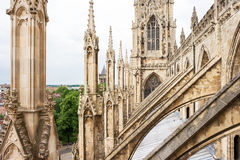 Cathédrale de York Minster à York Yorkshire, Angleterre Photo stock