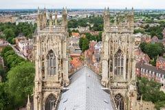 Cathédrale de York Minster à York Yorkshire, Angleterre Photographie stock