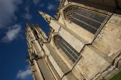 Cathédrale de York Minster, Yorkshire Photos stock