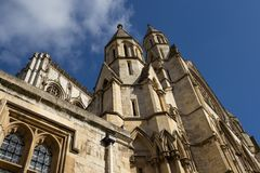 Cathédrale de York Minster, Yorkshire Images libres de droits