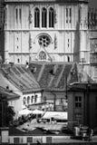 Cathédrale de Zagreb Photo libre de droits