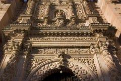 Cathédrale de Zatecas Images libres de droits