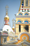 Cathédrale de Zenkov à Almaty, Kazakhstan photo stock