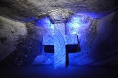 Cathédrale de Zipaquira Photo libre de droits