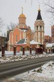 Cathédrale des nouveaux martyres et confesseurs de la Russie, secteur de Kuchino, région de Moscou Photographie stock