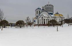 Cathédrale des saints de Moscou Photographie stock