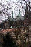 Cathédrale des saints Vitus, Prague Images libres de droits