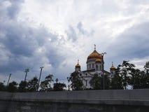 Cathédrale du Christ le sauveur Image libre de droits