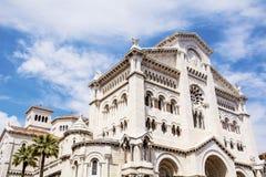 Cathédrale du Monaco - de Saint-Nicolas Photos stock