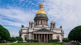 Cathédrale du `s d'Isaac de saint Image libre de droits
