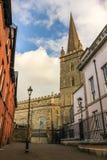 Cathédrale du ` s de Columb de saint Derry Londonderry Irlande du Nord Le Royaume-Uni Photos libres de droits