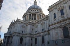 Cathédrale du `s de rue Paul, Londres Image libre de droits