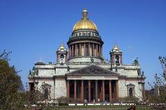 Cathédrale du ` s de St Isaac à St Petersburg, Russie images libres de droits