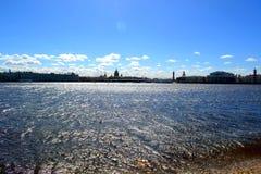 Cathédrale du ` s de St Isaac de Neva River Photos stock