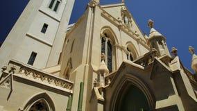 Cathédrale du ` s de St Mary à Perth banque de vidéos