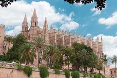 Cathédrale du ` s de St Mary, Palma de Mallorca image stock