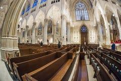 Cathédrale du ` s de St Patrick - New York images libres de droits