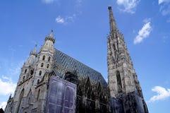 Cathédrale du ` s de St Stephen à Vienne images stock