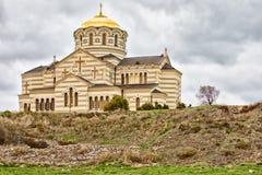 Cathédrale du ` s de St Vladimir image stock