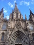Cathédrale espagnole Photos stock