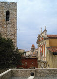 Cathédrale et belltower Photos libres de droits