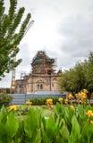 Cathédrale Etchmiadzin l'Arménien photo libre de droits