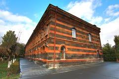 Cathédrale Etchmiadzin située dans la ville de Vagharshapat près d'Erevan, Arménie Image stock