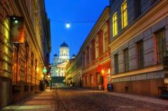 cathédrale Finlande Helsinki images libres de droits