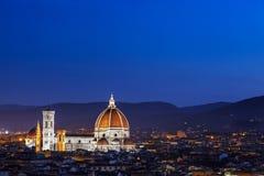 Cathédrale Florence Italie de Duomo Images libres de droits