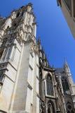Cathédrale France 16 d'Amiens Images libres de droits