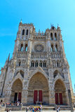 Cathédrale France 5 d'Amiens Image stock
