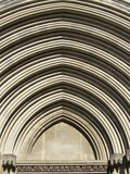 cathédrale girona d'arc Image stock