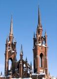 Cathédrale gothique Images libres de droits
