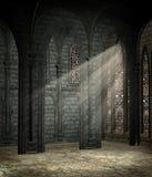 Cathédrale gothique 2 illustration stock