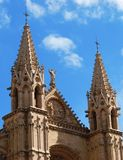 Cathédrale gothique Images stock