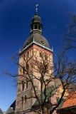 Cathédrale gothique de Riga, Lettonie Image libre de droits