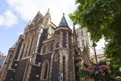 Cathédrale gothique du 12ème siècle de Southwark de style, Londres, Royaume-Uni Photographie stock